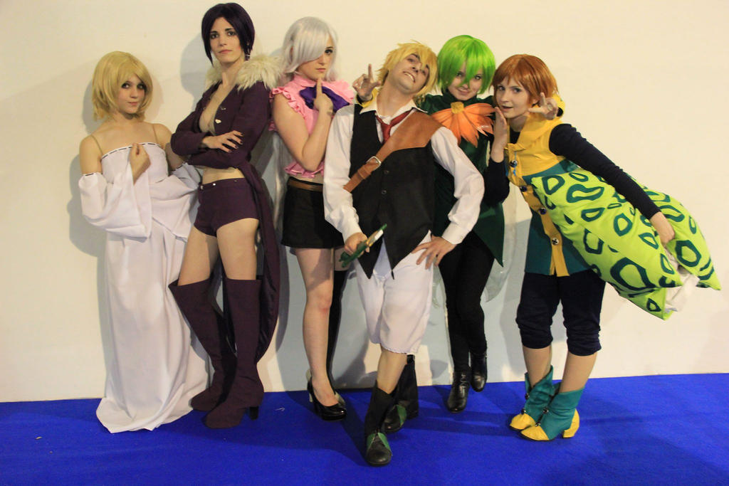 Nanatsu No Taizai Cosplay Team By ShamanaChu On DeviantArt