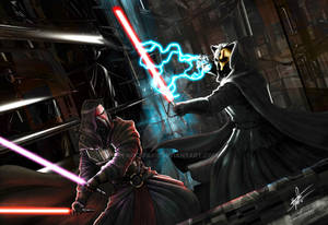 Darth Revan vs Darth Nihilus-C