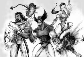 X-Men by clarkspark