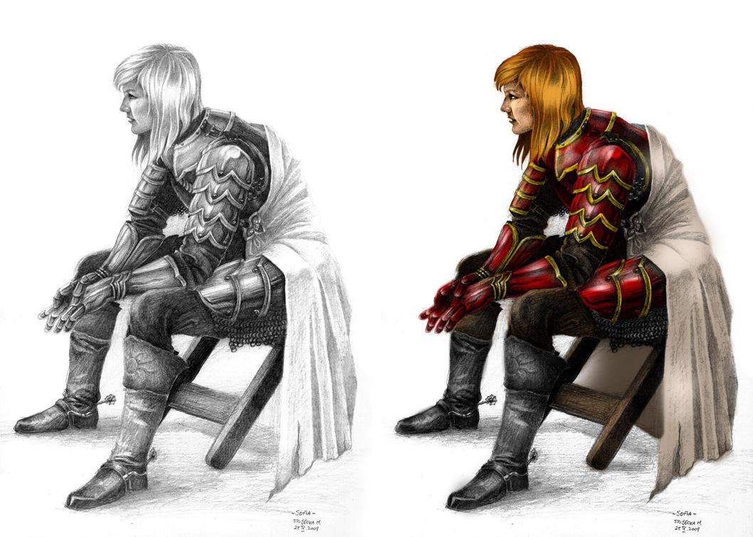 Sofia, Female Knight by bapabst