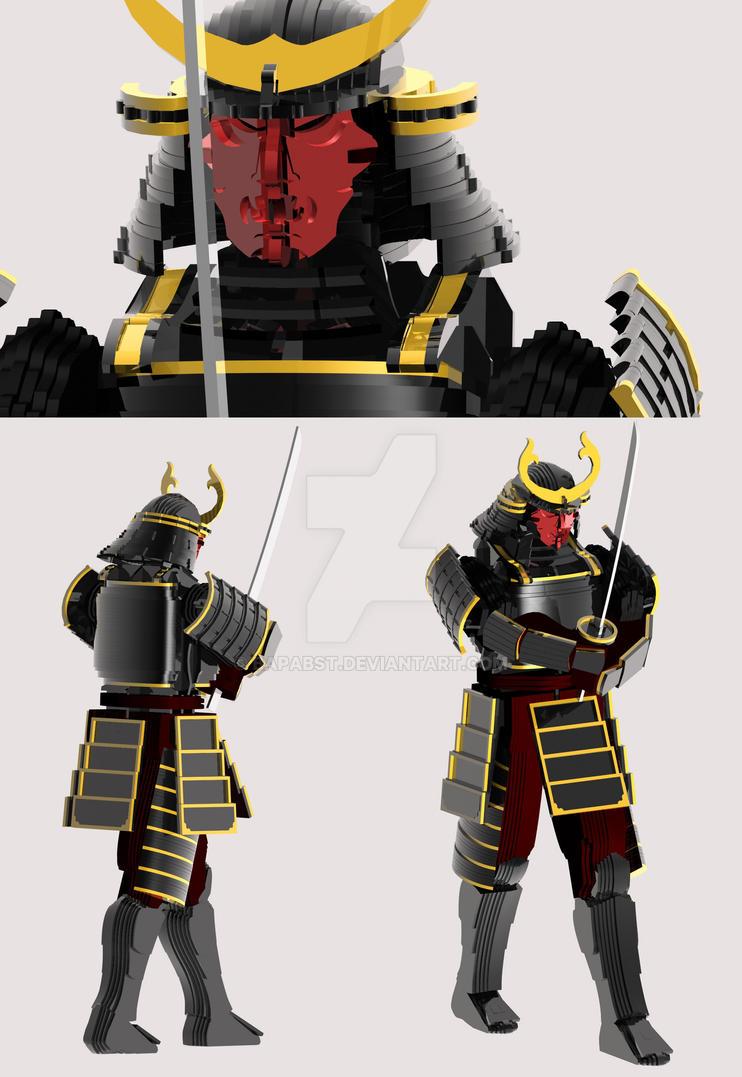 3D Samurai by bapabst