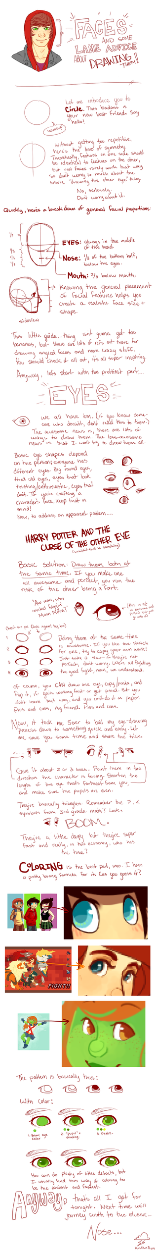 Faces - EYES by 1000th