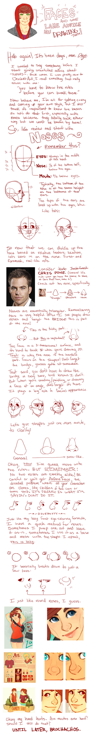 Faces - NOSES by 1000th