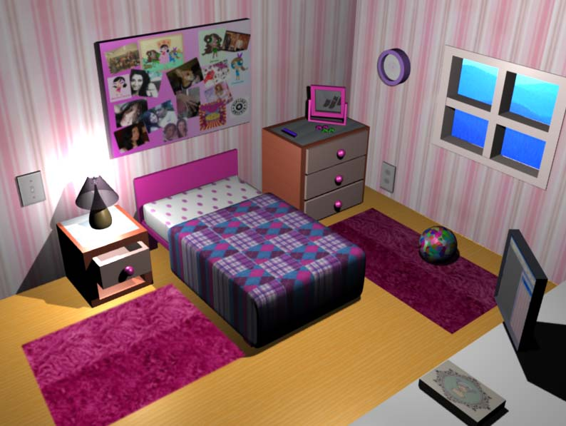bedroom by marcellacarter