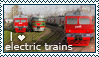 I love electric trains Stamp by Aniritak