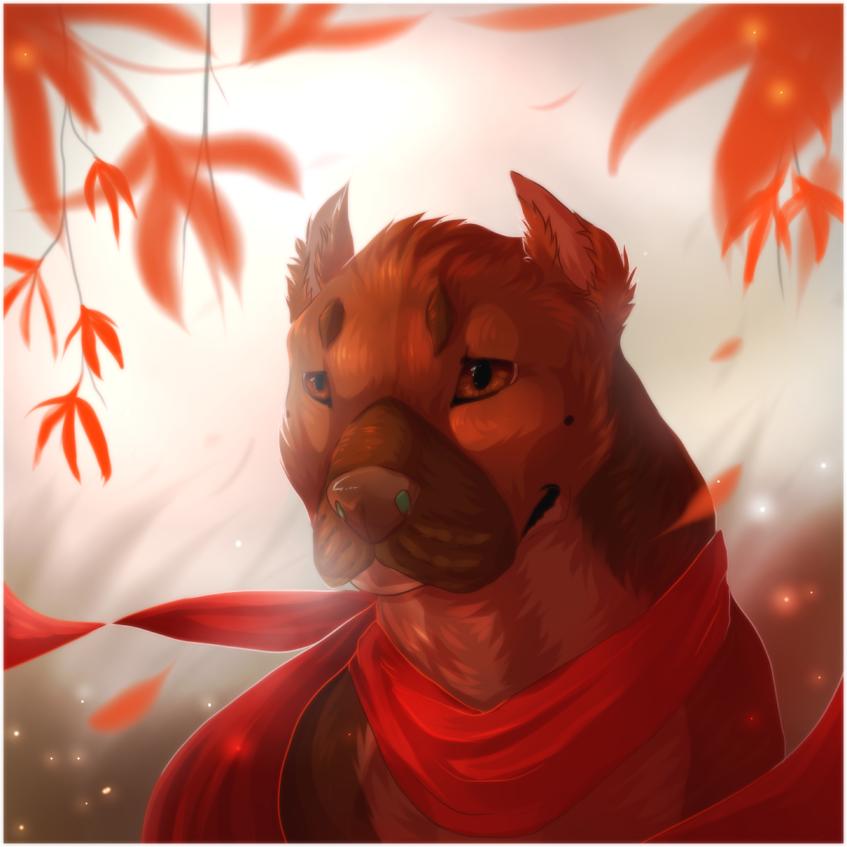 red leafes by Aniritak