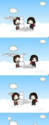 Walfas-Letty the Snowoman! by YangTheFeline
