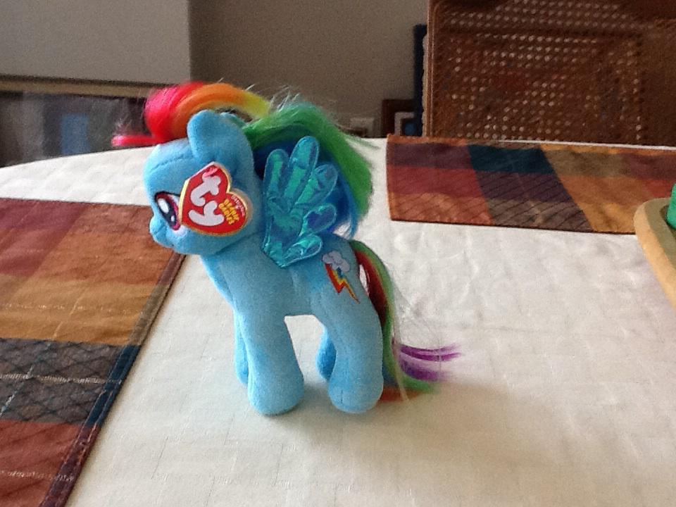 a photo of Rainbow Dash( a Pegasus) by sailorcancer01
