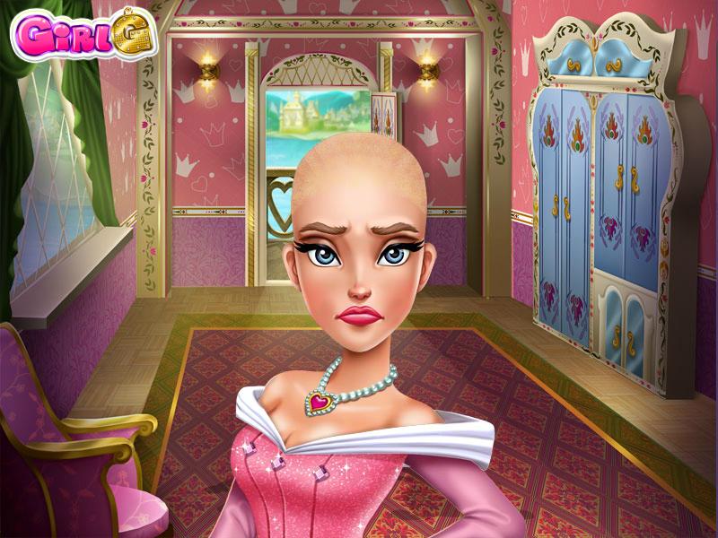 Princess Aurora's Buzzcut by sailorcancer01