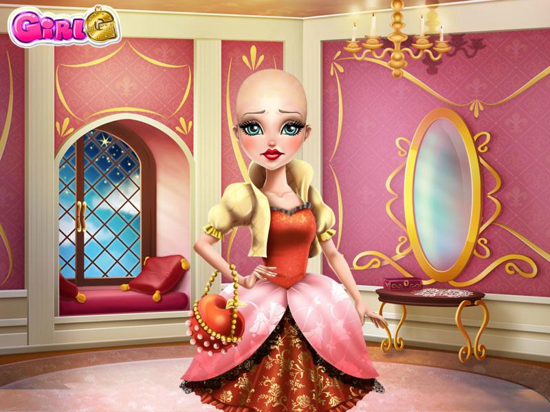 Princess Apple White's buzzcut by sailorcancer01