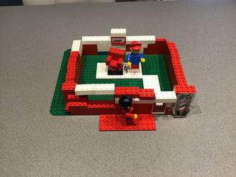 LEGO barber shop by sailorcancer01