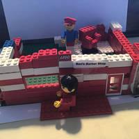 LEGO PJ Masks Ben's  Barber Shop