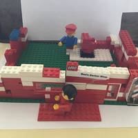 Lego Ben's Barber Shop( moved a bit)