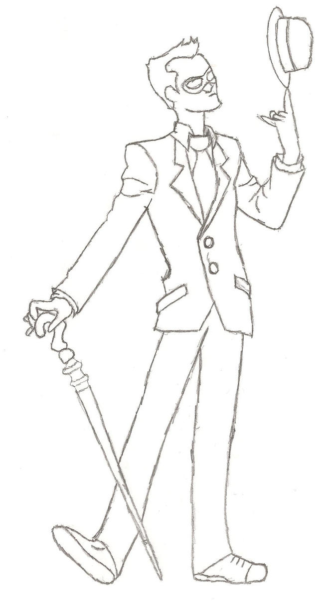 Line Drawing Riddles : The riddler by captain cowman on deviantart