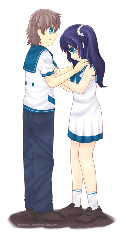 Nagi no Asukara: Kaname x Chisaki by unknow-chan