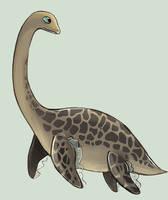 Futabasaurus for Graciea-Gurei by Verduflu