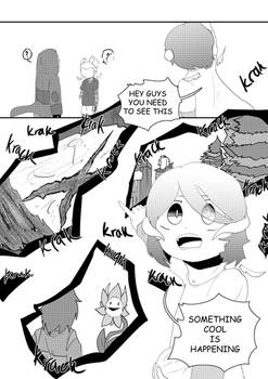 Not A Tale | UNWELCOMEVisitor | chapter 3/1 - pg36
