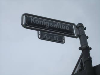 Dusseldorf calle