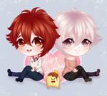 Happy Birthday! Riku and Tenn