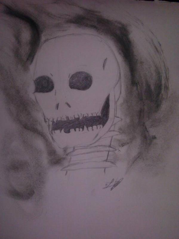Skull by autobutt