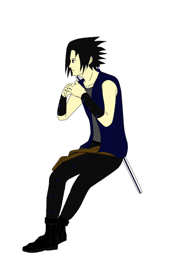 Sasuke new outfit by Lizeth-Norma on DeviantArt