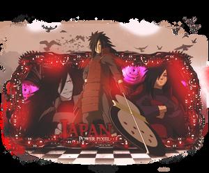 Sign Modelada - Naruto (Madara Uchiha)
