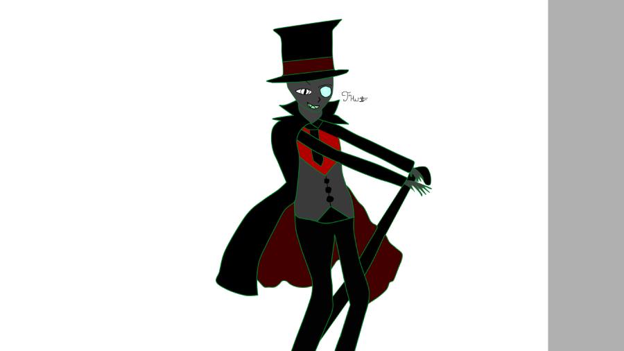 Black Hat (Villainous) by emodrawerwriter
