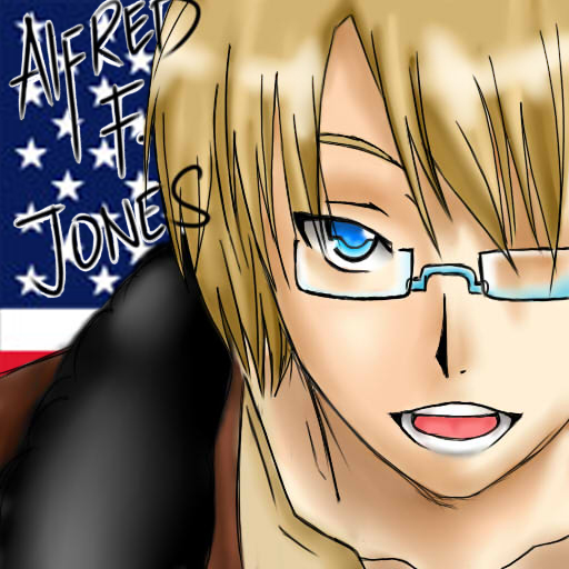 Alfred F. Jones by sillyJasdero