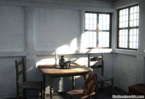 old dining room by svenart