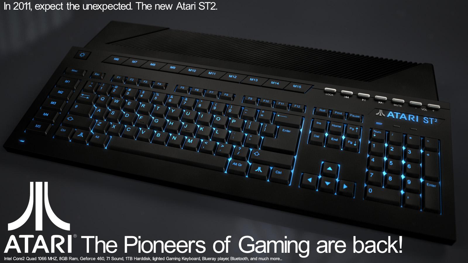 Atari St2 by svenart