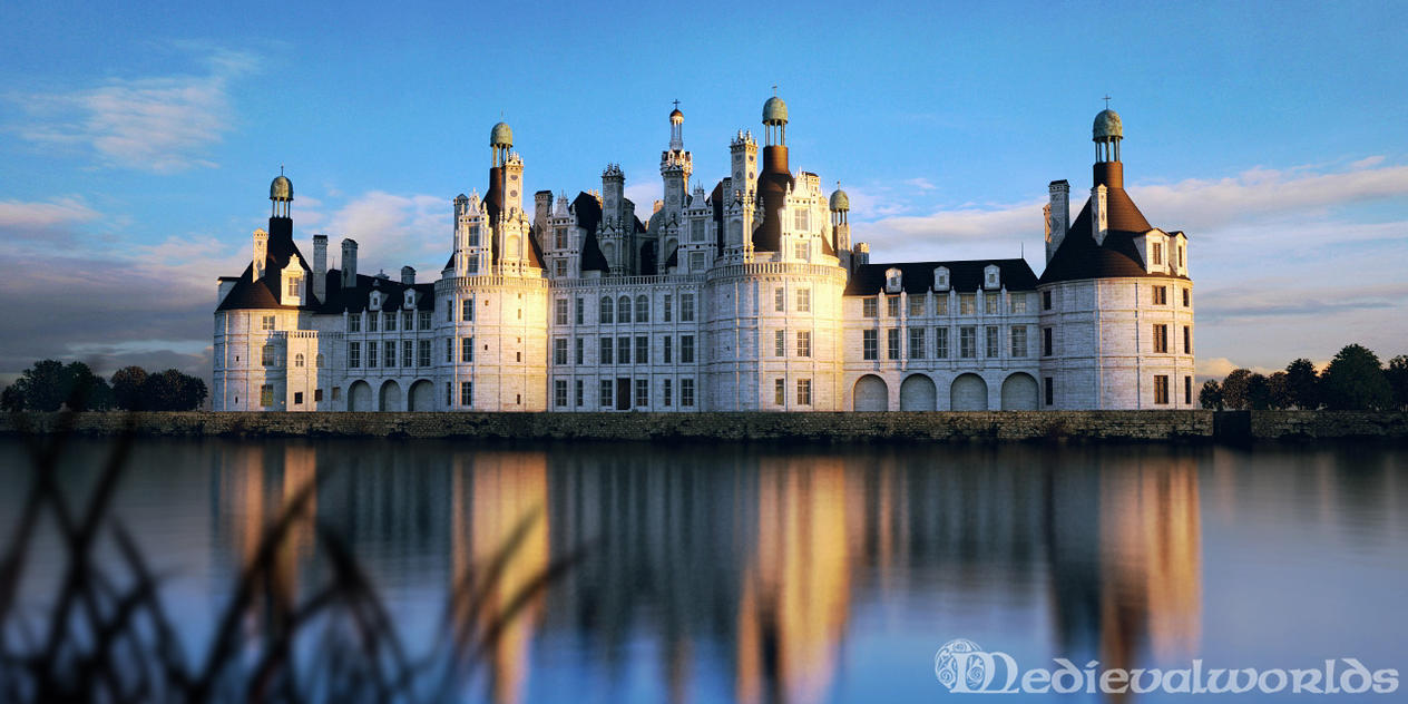 Chateau de Chambord by svenart on DeviantArt
