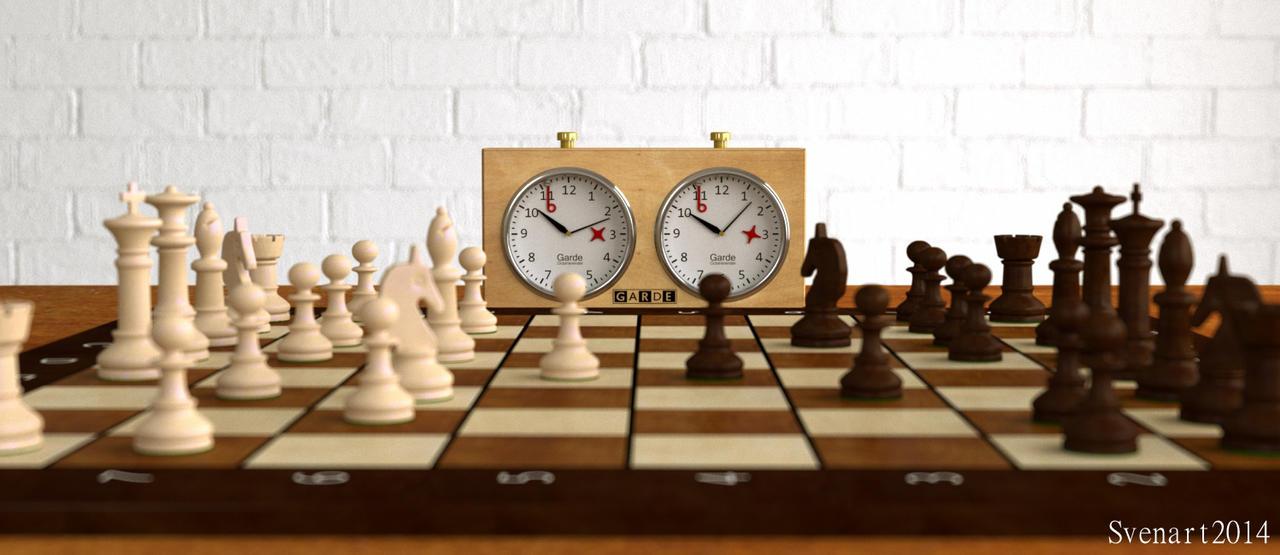 Chess by svenart
