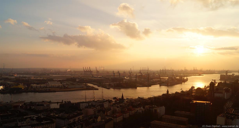 Hamburg Sunset by svenart