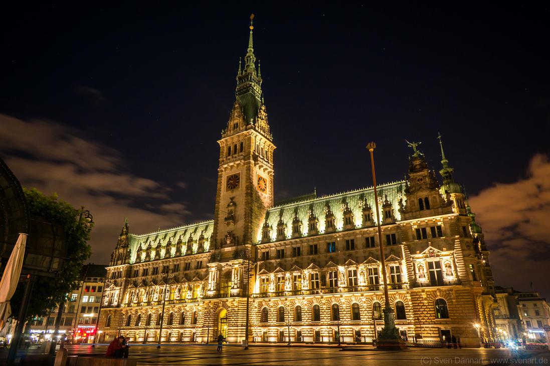 Hamburg Townhall by svenart