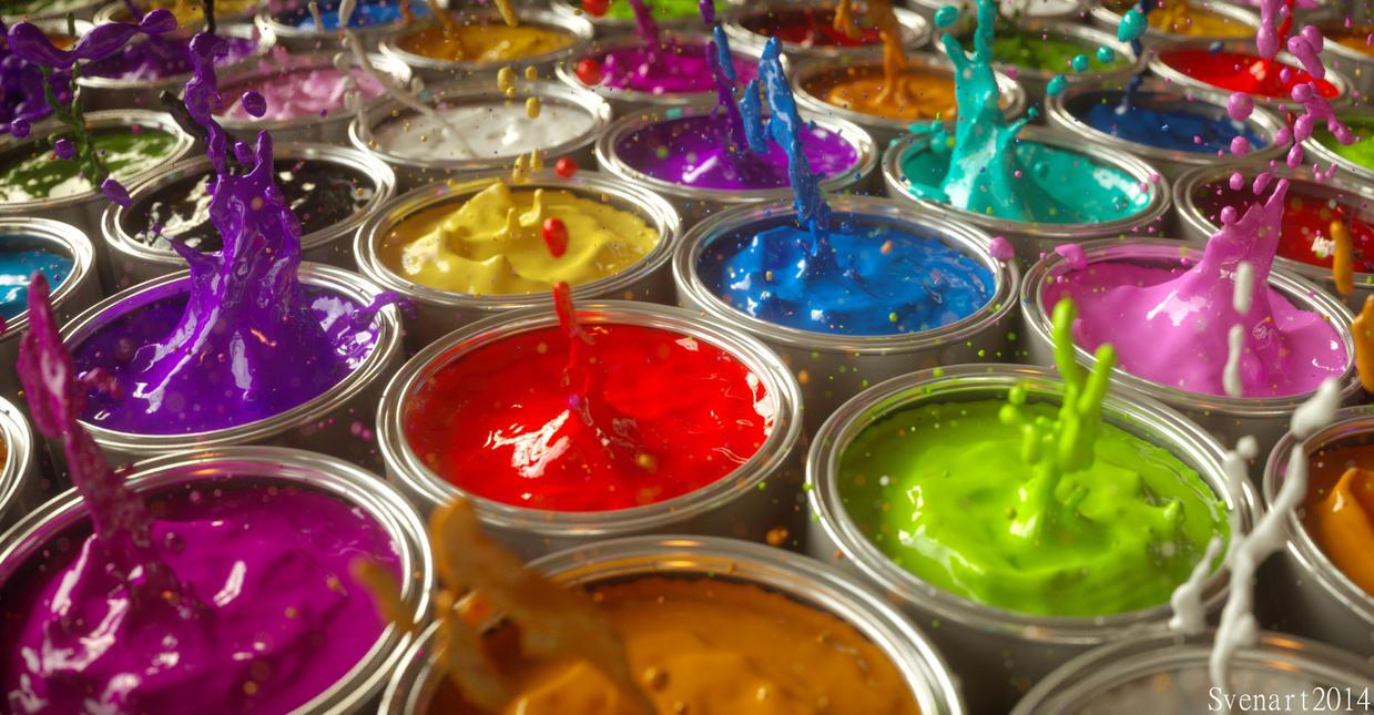 Color splash by svenart