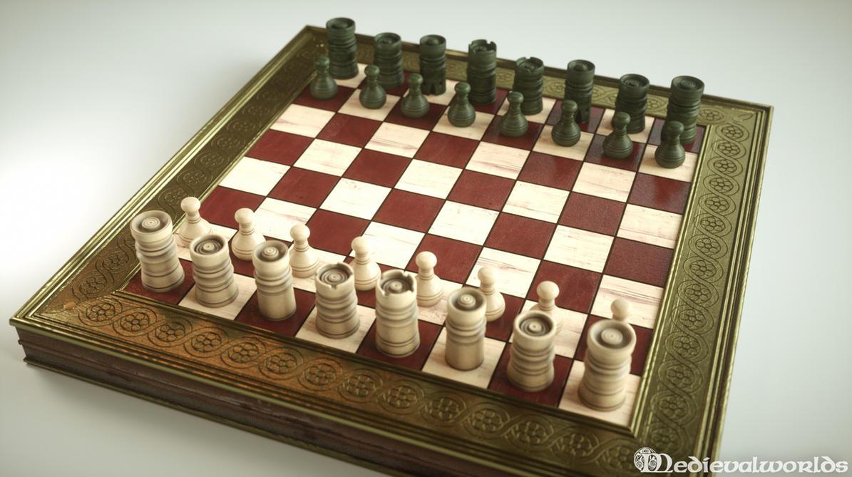 Renaissance chess by svenart