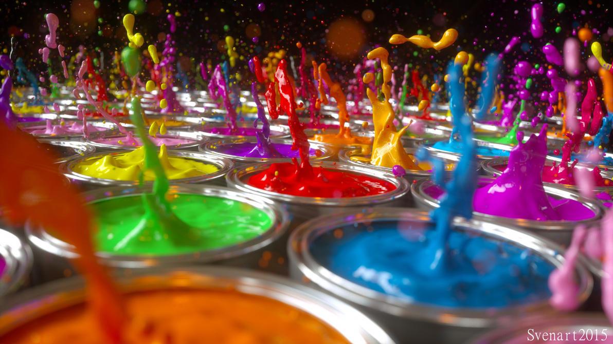Color splash 2 by svenart