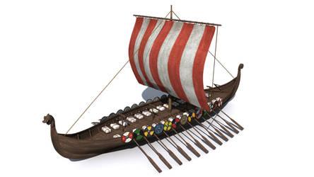 Vikingship by svenart