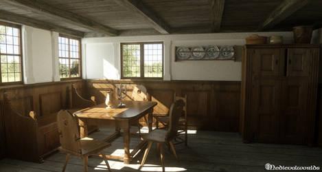 18th century livingroom by svenart