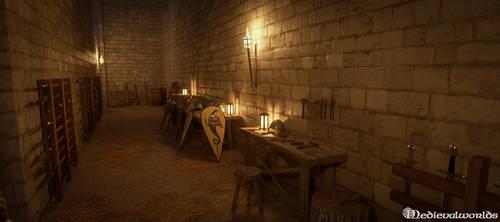 Chateau Loches Cellar