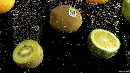 Fruits watersplash