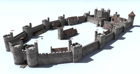 Castle construction set 2 (Work in progress)