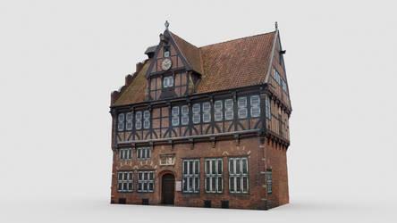 Townhall Wilster 3dscan