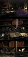 Wizards workroom