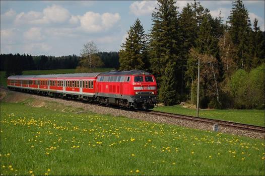 BR 218 Fuessen