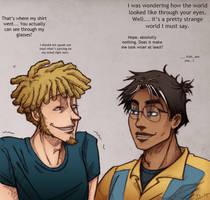 TJ and Amal : Your strange world by LaLunatique