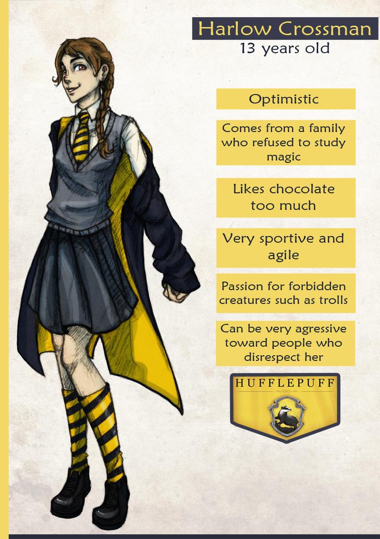 Harry Potter : OC Harlow Crossman by LaLunatique on DeviantArt