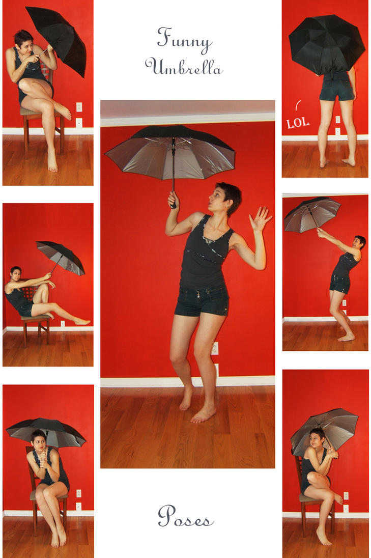 STOCK - Funny Umbrella by LaLunatique