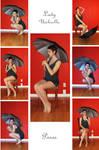 STOCK - Lady Umbrella