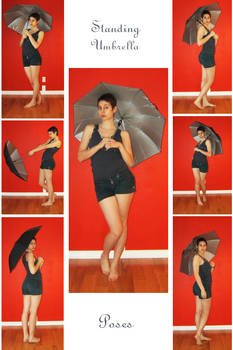 STOCK - Standing Umbrella